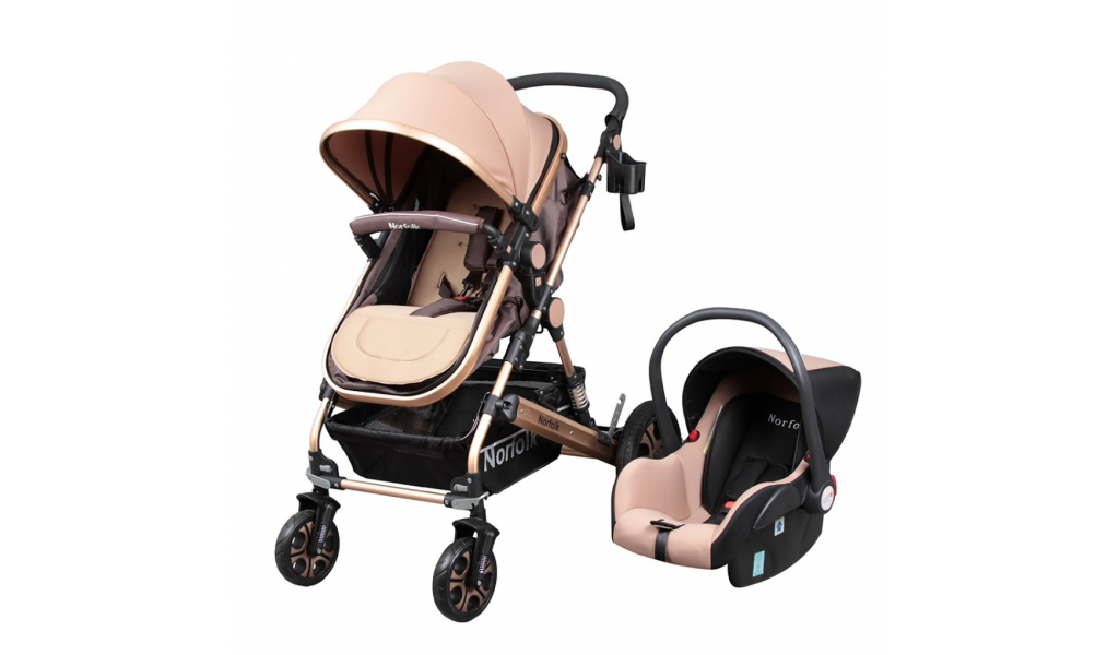 Luxury baby stroller and carriage