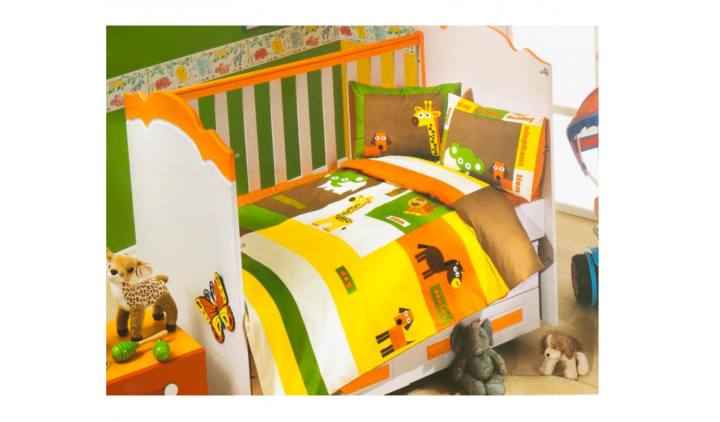 Babys Turkish bedding set - happy set