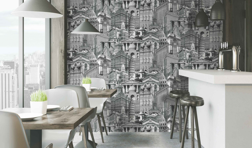 Wallpaper in various color and design from Istanbul