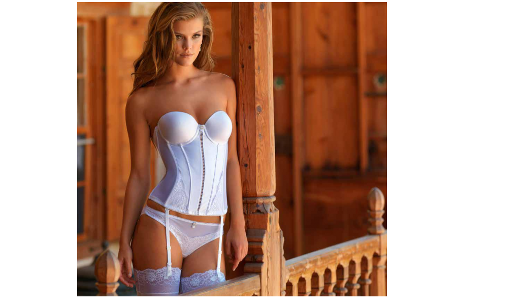 Sexy Turkish Bustier with Suspender Belt Set
