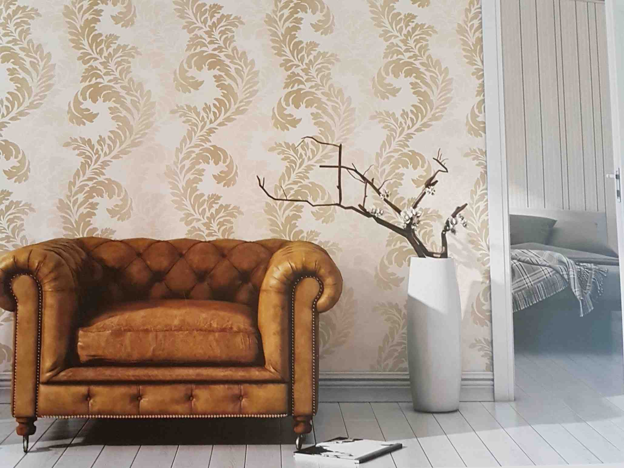 A delicate touch-Turkish wall paper