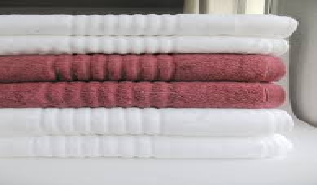 Wholesale bordered towel for hotel textile (100 items)