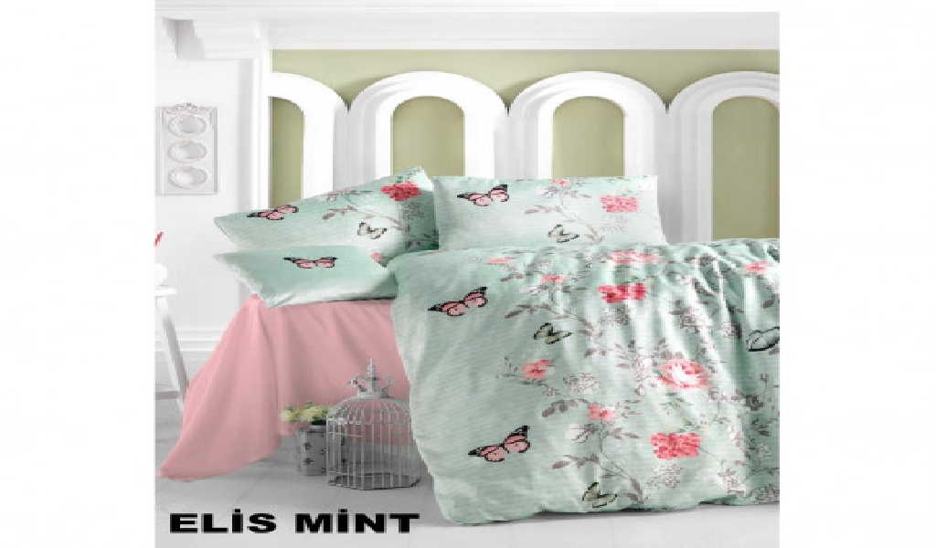 New Flower Design Double Bedding Set