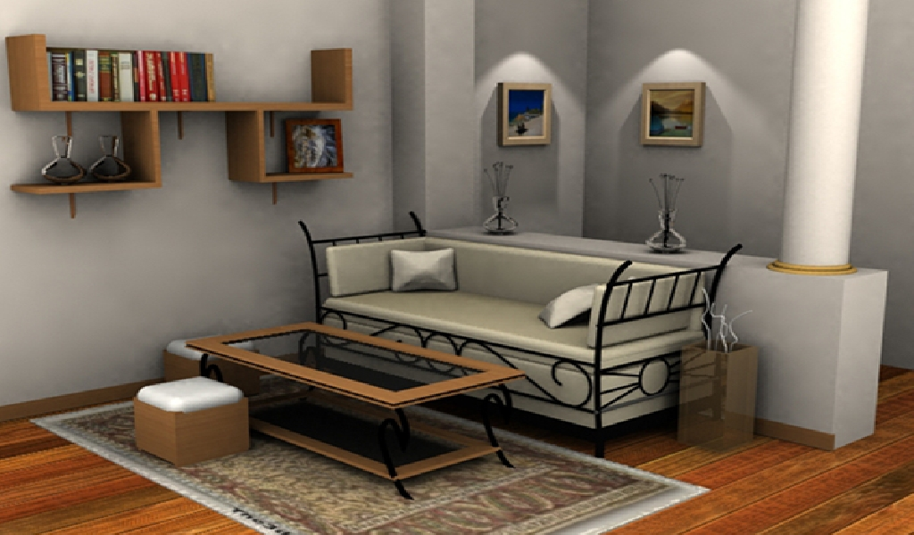 I do 3D Modelling and  3D realistic rendering
