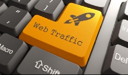Keyword targeted website traffic with Low Bounce Rate