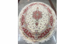 Oval Tabriz Carpet