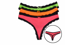 Wholesale Beautiful colorful panties under 1 USD